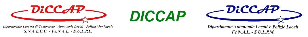 DICCAP - Dipartimento autonomie locali e polizie locali