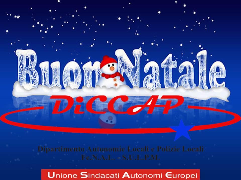 Buon Natale Tutti.Diccap Dipartimento Autonomie Locali E Polizie Locali